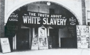 Filmtheater in den USA, im Jahr 1914