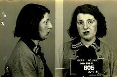 Verhaftete Prostituierte in Montréal, 1941